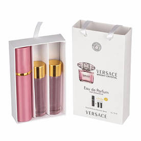 Набор с феромонами - Versace Bright Crystal (3×15 ml)