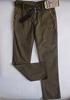 Катоновые брюки детские для мальчика от 6 до 10 лет
