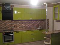 Встроенная кухня MDF пленочный под заказ 1