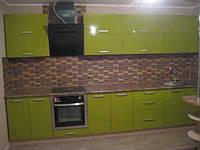 Встроенная кухня MDF пленочный под заказ 2