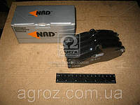 Колодки тормозные ЗИЛ 5301 передние безасб. (компл. 4шт.) (NRD) 5301-3501090