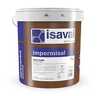 Фасадная краска гидроизолирующая высшего качества Импермисаль Лиссо15 лет гарантии  белая 15л