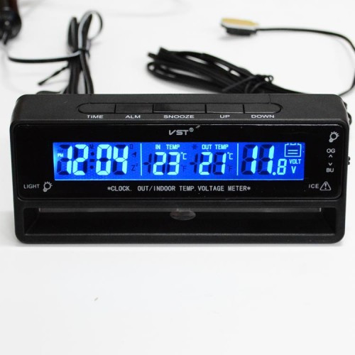 Часы в авто на батарейках