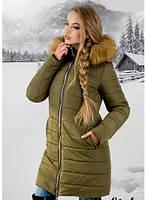 Зимняя молодежная куртка с капюшоном Флорида Разные цвета