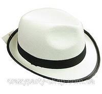 Шляпа детская белая