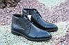 Стильные мужские ботинки Rondo натур кожа