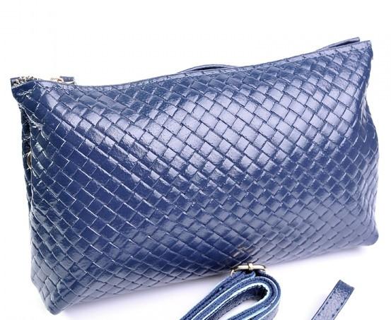 """Женский кожаный клатч 818 Blue Женская кожаная сумка, кожаный женский клатч - Интернет магазин """"Модная сумка"""" - женские сумки и клатчи, мужские сумки клатчи, портмоне и кошельки в Одессе"""