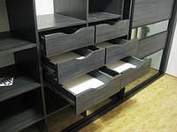 Встроенный шкаф-купе в спальню 9