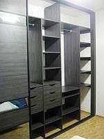 Встроенный шкаф-купе в спальню 10