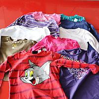 Детские футболки секонд-хенд длинный рукав Код: TRICKA DR DET