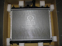 Радиатор охлаждения HYUNDAI GETZ (TB) (02-)/M (пр-во AVA)