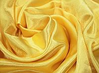 Ткань креп- сатин желтый