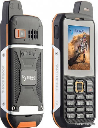 Мобильный телефон Sigma X-treme 3GSM orange-black , фото 2