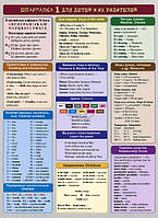 Книга «Английский язык. Шпаргалка 1 для детей и их родителей» 978-985-15-2770-6