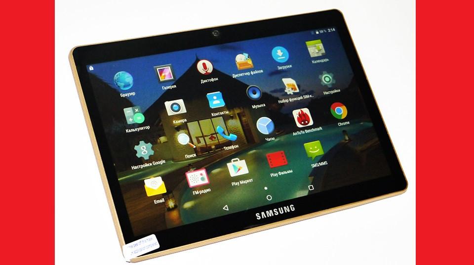 "9,6"" Планшет Samsung Galaxy Tab 2Sim - 8Ядер+1GB Ram+16Gb ROM+Android Чорний"