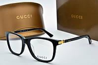 Оправа квадратная Gucci черная, фото 1