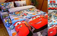 Комплект детского постельного белья ТАЧКИ Молния МакВин,  ткань  ранфорс