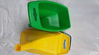 Воронка-лейка пластмассовая прямоугольная