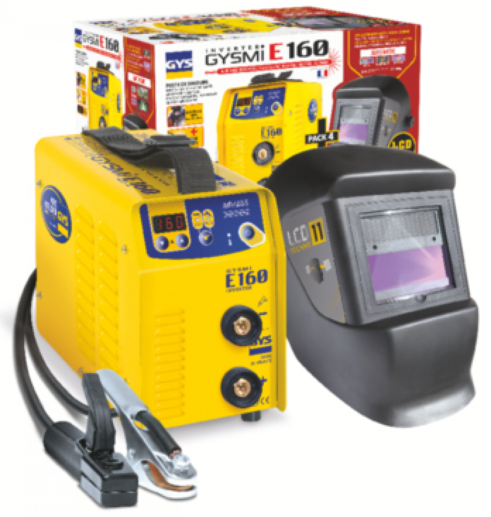 Комплект GYSMI E160 + маска LCD 11 GYS 031456 (Франция)