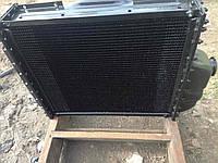 Радиатор вод.охлажд. МТЗ-80, Т-70 70У-1301.010 с дв. Д-240, 241 (4-х рядн.) (латунные бачки)