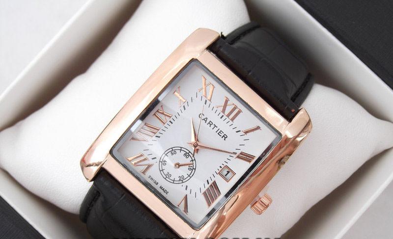 Часы мужские наручные Cartier