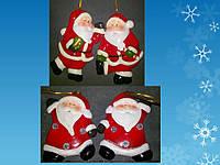 """Подвеска """"Дед Мороз"""" 4 дизайна, 6,7*1,5*8"""