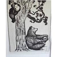 Плед новозеландская шерсть SoundSleep 140х200 Bears