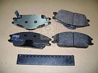 Колодка тормозная HYUNDAI ACCENT, GETZ передний (производитель TRW) GDB3331