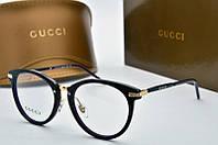 Оправа круглая Gucci темно-фиолетовая, фото 1