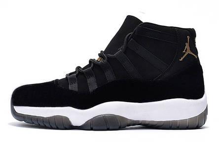 pretty nice f3dae c2677 Мужские кроссовки Nike Air Jordan 11 Retro Mid Black