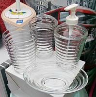 Набір з 4-х предметів для ванної кімнати, пр-ль Туреччина