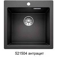 Гранитная кухонная мойка Blanco Pleon 5 (антрацит) , фото 1