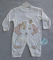 Человечек для новорожденных на девочек 3-6 мес Турция оптом