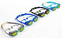 Очки с берушами для плавания в комплекте SAILTO KH39-A (пластик, силикон, цвета в ассортименте)