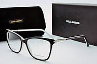 Имиджевые очки DG 8009 черно-бел, фото 1