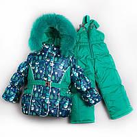 Зимний комбинезон для девочки «Снеговик»