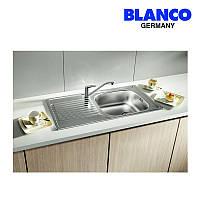 Мойка кухонная врезная из нержавеющей стали Blanco Magnat