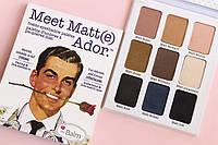 Палетка матовых теней The Balm Palettes Meet Matte Ador