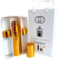 Набор с феромонами - Gucci Guilty pour Homme (3×15 ml)