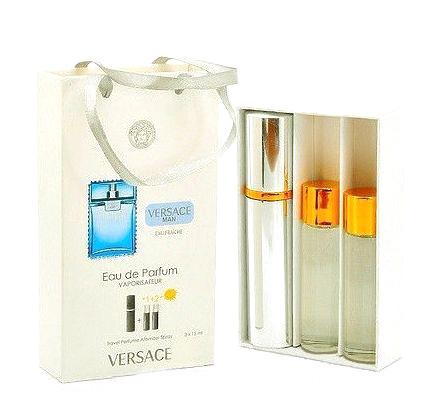 Набор с феромонами - Versace Man Eau Fraiche (3×15 ml)