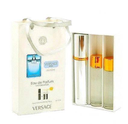 Набор с феромонами - Versace Man Eau Fraiche (3×15 ml), фото 2