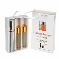 Набор с феромонами - Clinique Happy for Men (3×15 ml)