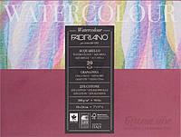 Склейка-блок для акварели Watercolor среднее зерно  A5 18х24 см 200 г/м² 20 листов Fabriano
