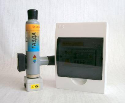 Комплект - котел электродный «ГАЗДА» КЕ-1-2,0 и автоматика G351-1-3, фото 2