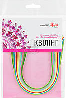Полоски для квиллинга №1 Яркие краски 6 цветов