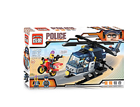 """Детский конструктор. Конструктор """"Brick"""" полиция, машина, фигурки.Конструктор Лего."""