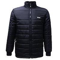 Куртка Lee Cooper Padded Jacket Mens Black S 44-46 Ru Чёрный цвет