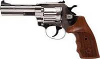 Револьвер под патрон Флобера Alfa 441 Classic (никель/дерево)