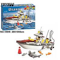 Конструктор Bela City Рыболовный катер 10646