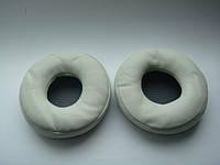 Подушки (белые, черные амбушюры)  для наушников Pioneer hdj700
